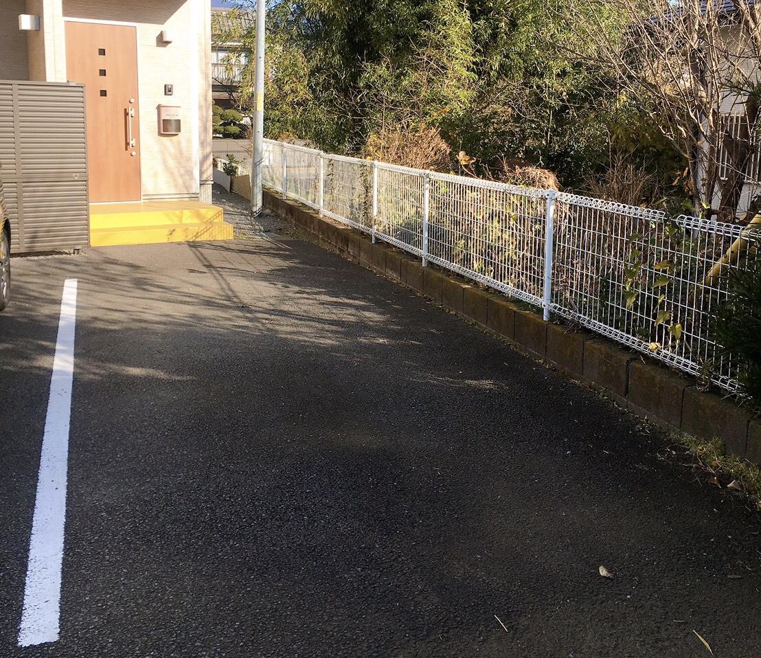 秦野市アロマサロンsuiの駐車場について